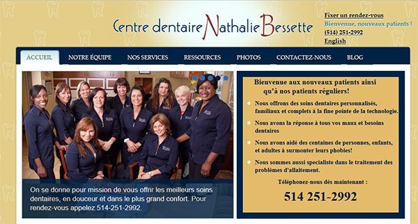 Centre Dentaire Nathalie Bessette En Ligne