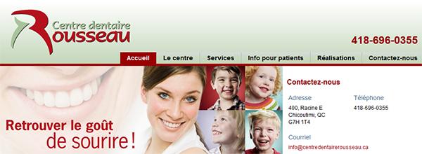 Centre Dentaire Rousseau En Ligne
