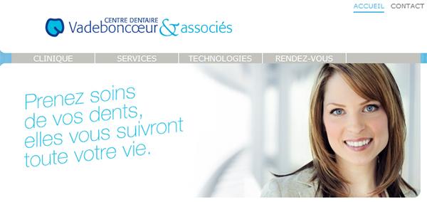Centre Dentaire Vadeboncoeur Et Associés En Ligne