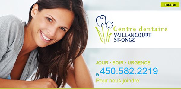 Centre Dentaire Vaillancourt St Onge En Ligne