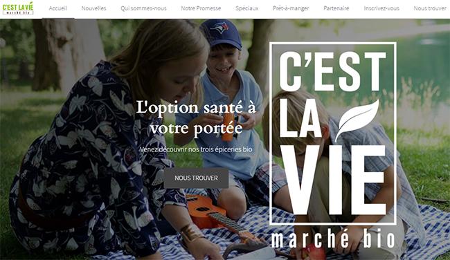 Cest La Vie Marche Bio En Ligne