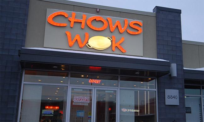 Chows Wok Restaurant Asiatique