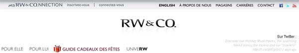 Circulaire Boutique Rw Co En Ligne