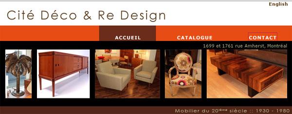 Cite Deco Et Re Design Meubles En Ligne