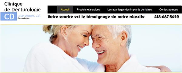 Clinique De Denturologie Carl Desbiens En Ligne
