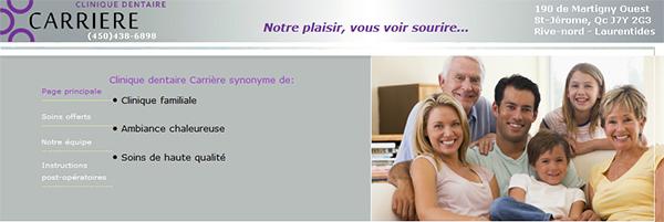 Clinique Dentaire Carrière En Ligne