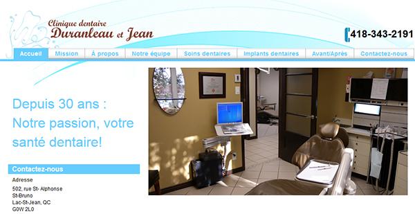Clinique Dentaire Duranleau Et Jean En Ligne