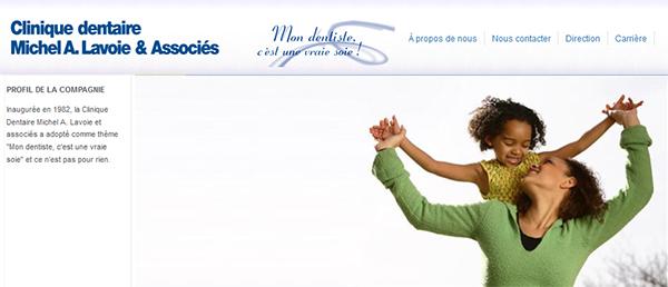 Clinique Dentaire Michel A Lavoie Et Associés En Ligne