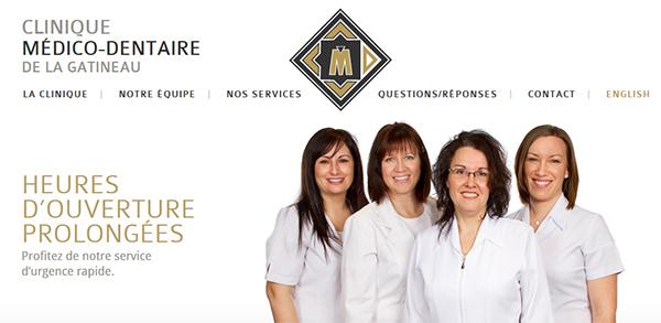 Clinique Médico Dentaire De La Gatineau En Ligne