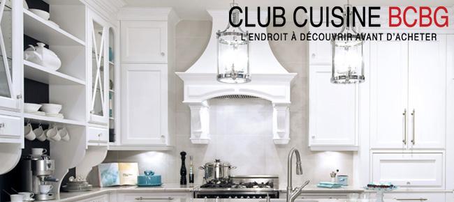 Club Cuisine Bcbg Armoires De Cuisine Salles De Bain