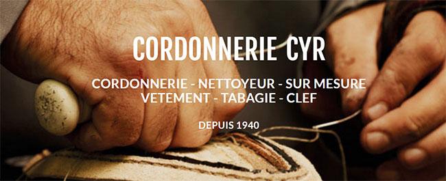 Cordonnerie Cyr
