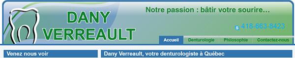 Dany Verreault Denturologiste En Ligne