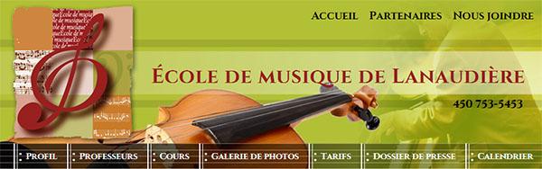 école De Musique De Lanaudière En Ligne