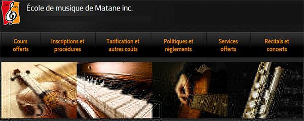 école De Musique De Matane En Ligne