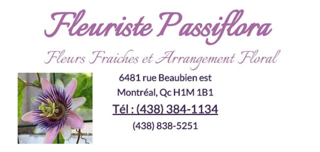 Fleuriste Passiflora