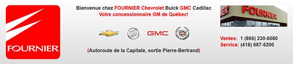 Fournier Chevrolet Buick Gmc Cadillac En Ligne
