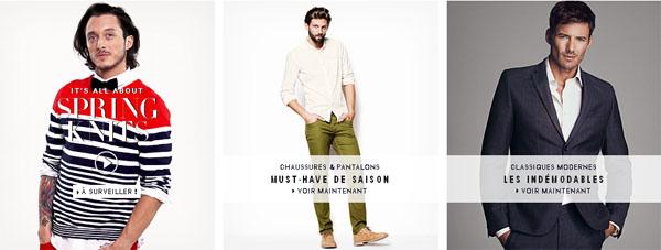 H&m Boutique Vêtements Hommes En Ligne
