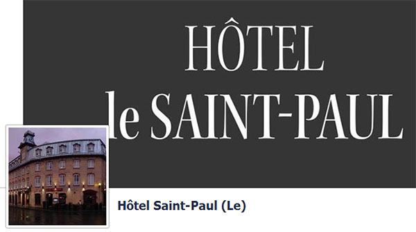 Hôtel Le Saint Paul
