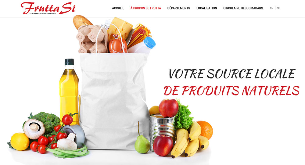 Marché Frutta Si Supermarché International