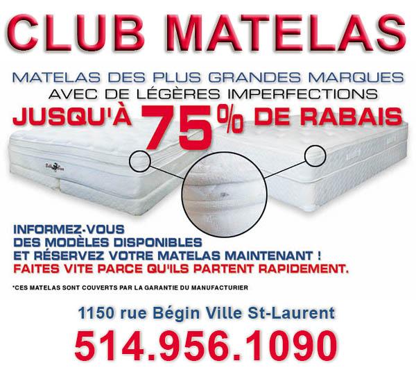 Matelas Montreal