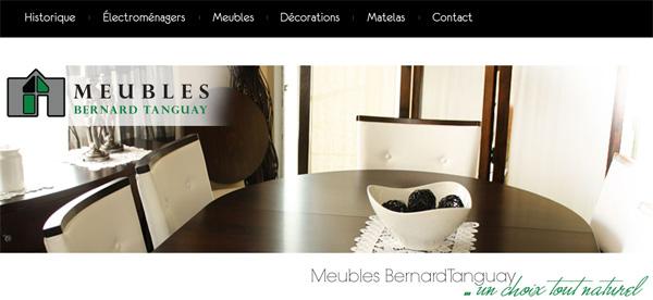 Meubles Bernard Tanguay En Ligne