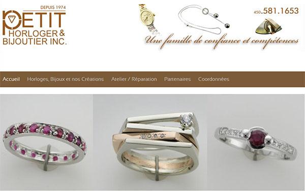 Petit Horloger & Bijoutier Inc En Ligne