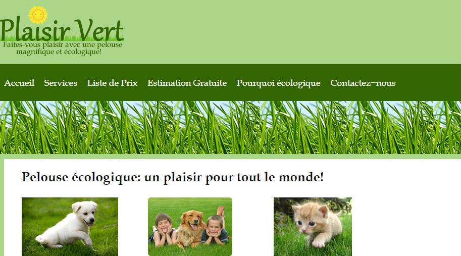 Plaisir vert circulaire en ligne for Offre espace vert