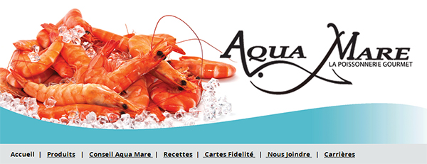 Poissonnerie Aqua Mare En Ligne