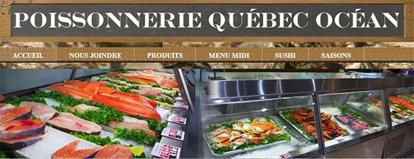Poissonnerie Québec Océan En Ligne