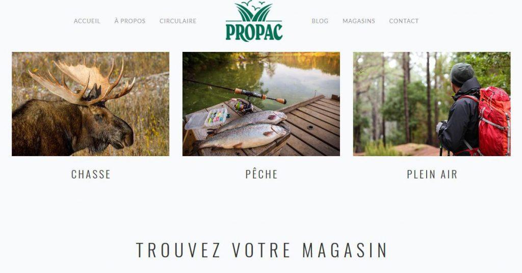Propac Articles Chasse Et Pêche