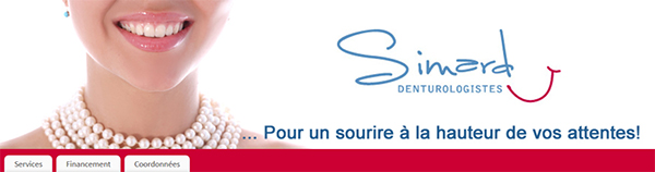 Simard Denturologistes En Ligne