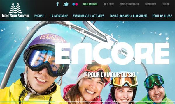 Ski Mont Saint Sauveur En Ligne