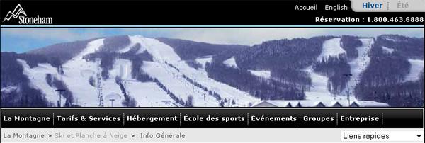 Ski Stoneham En Ligne