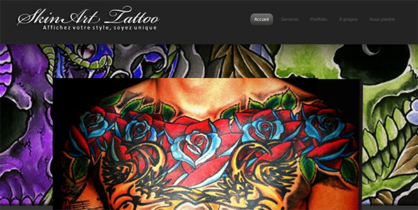 Skin Art Tattoo En Ligne