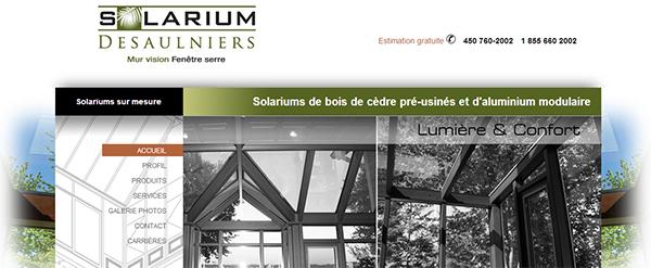 Solarium Desaulniers En Ligne