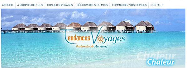 Tendances Voyages En Ligne