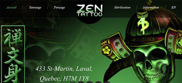 Zen Tattoo En Ligne